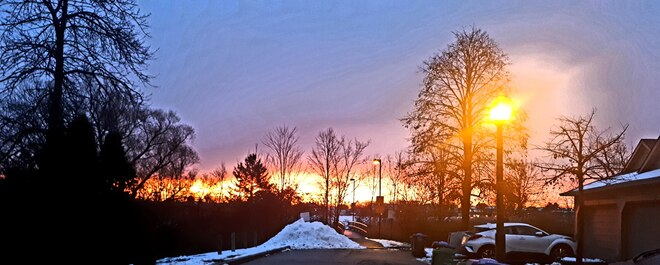 7.08 am Monday Morning in Mississauga Mississauga, ON