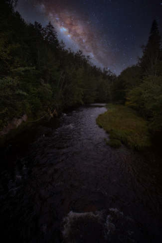 A clear night Diligent River Road, Diligent River, Nova Scotia B0M 1H0