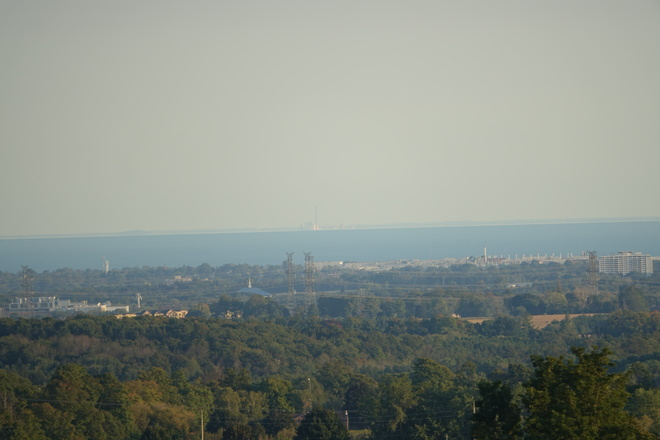 What happens when a temperature inversion occurs! A Superior Mirage may occur! Raglan, Oshawa, ON