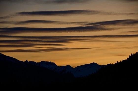 Coast Mountain Silhouette III