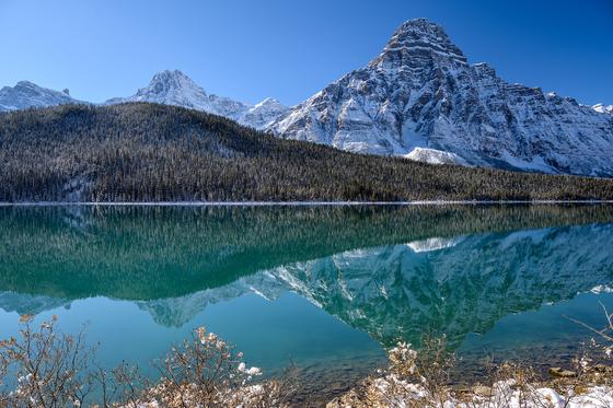 Frosty Waterfowl lakes