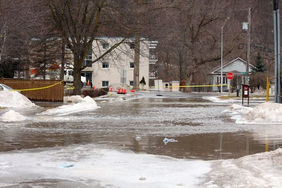 March flooding on the Humber River 2019