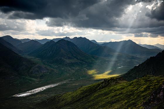 Stormy Skies on Rake Mountain