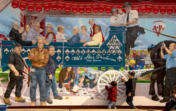 The Mural at the Carp Fair