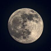 La lune sera pleine demain