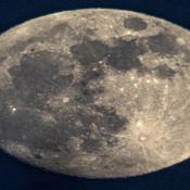 La lune du 9 janvier 2020