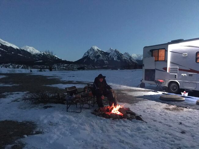 First camping trip of 2020 Abraham Lake, Clearwater County, AB