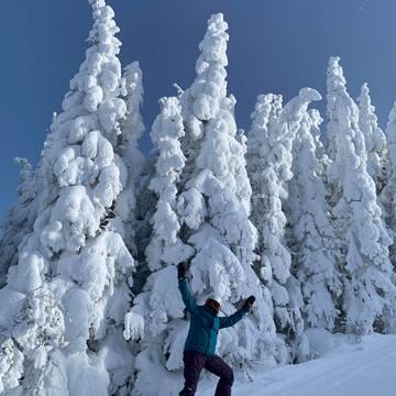 Petite expédition au mont Valins / Centre de Ski le Valinouët Saguenay