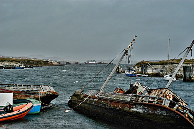 The Decaying and Nearly New Stanley, Falkland Islands (Islas Malvinas)