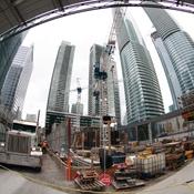 Constuction Downtown Toronto