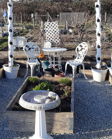Seating Is An Important Aspect Of Any Garden 11410 Bonson Rd, Pitt Meadows, BC V3Y 2S3, Canada
