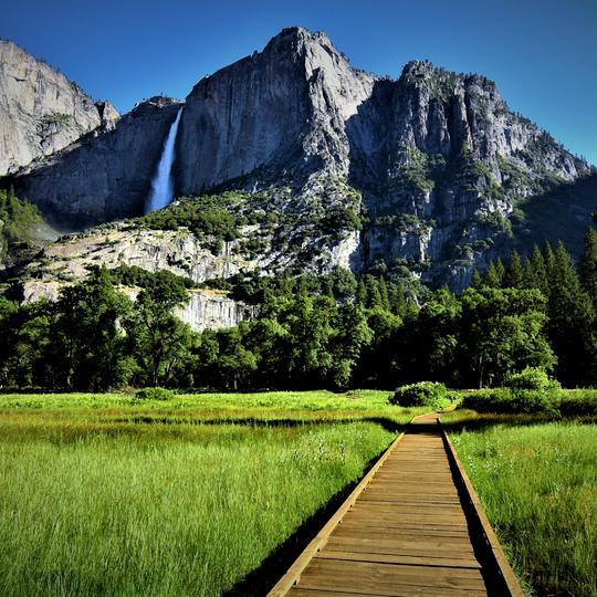 Bridal Veil Falls, Yosemite