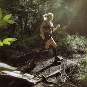 Course en trail sur Pandora