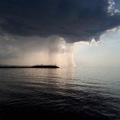 Cumulonimbus sur le Lac St-Jean