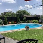 Combattre la canicule / beat the heat = drop in a pool !
