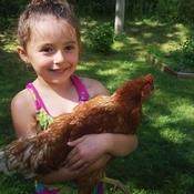 Melody et sa poulette