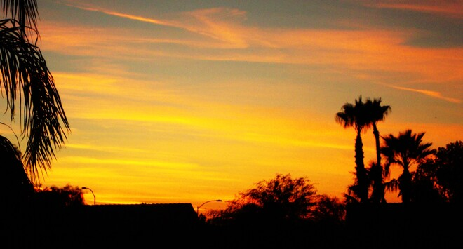 Phoenix sunset Phoenix, AZ, USA