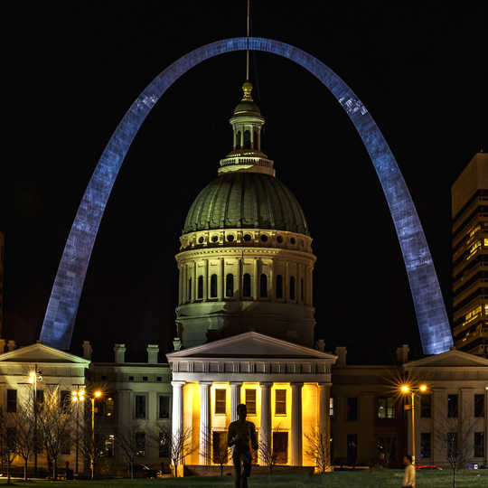 The Gateway Arch National Park