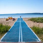 Tapis de plage- Penouille (Gaspé)