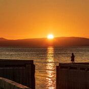 Parc National Forillon/ coucher de soleil