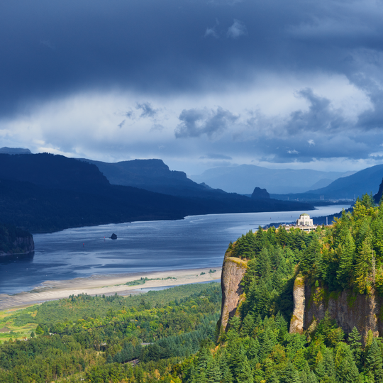 Columbia River Gorge National Scenic Area.
