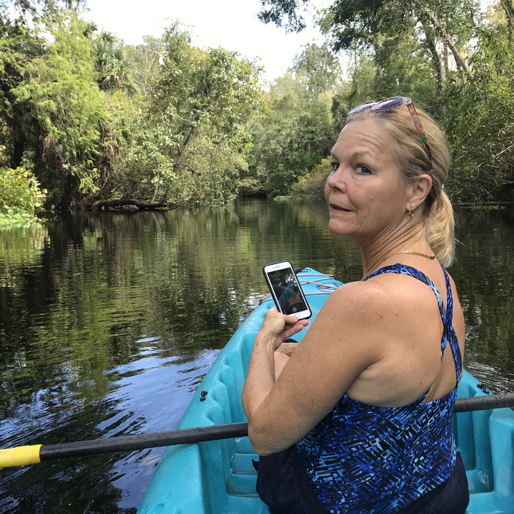 Kayaking and Phone Photography