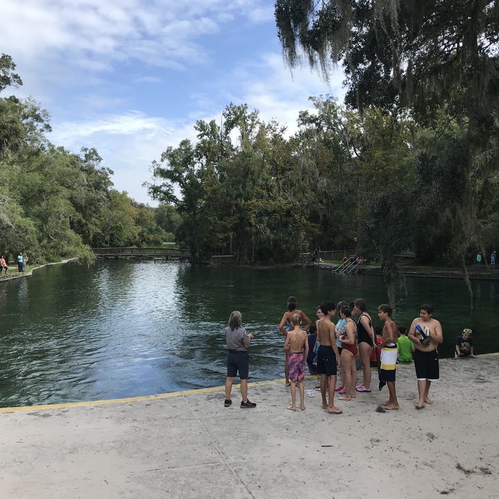 Manatees In, People out