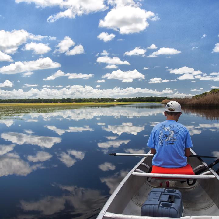 Fishing Myakka Lake