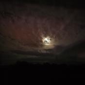 lune voilée