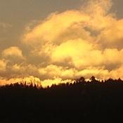 le soleil prépare son lever...