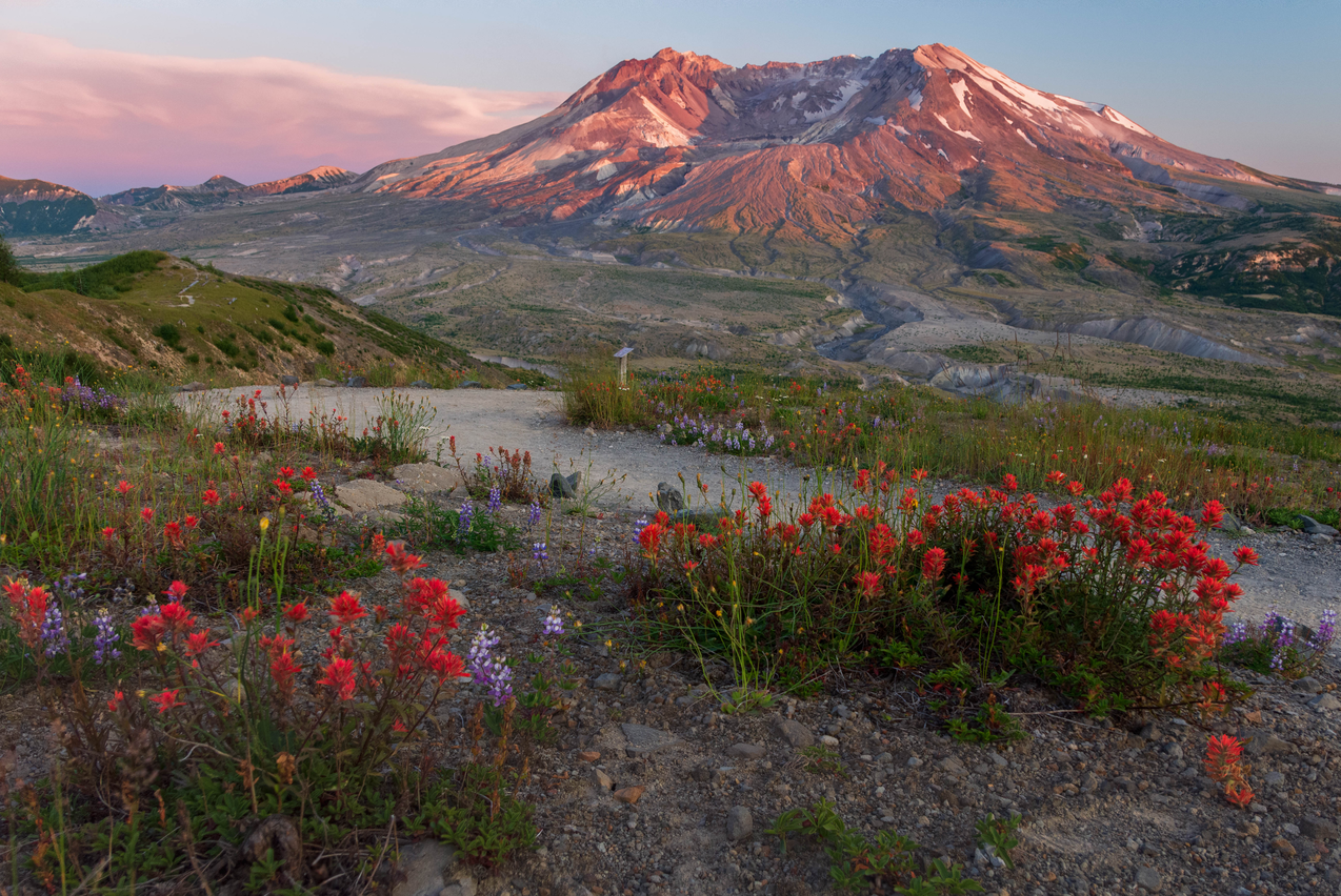 Mt St. Helens National Volcanic Monument