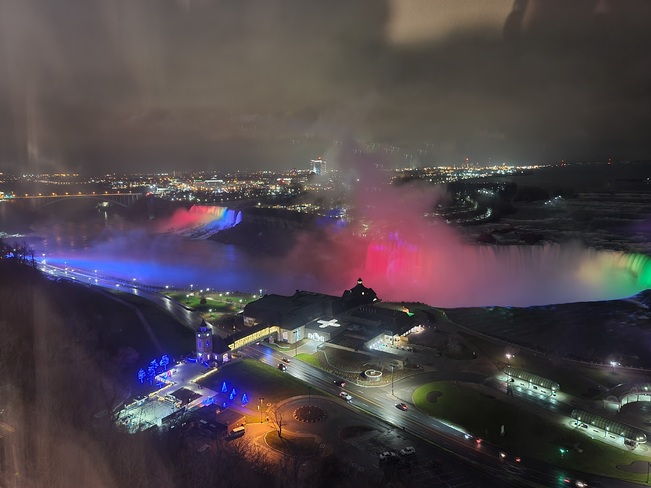 Thanksgiving Falls from Canada Niagara Falls, ON