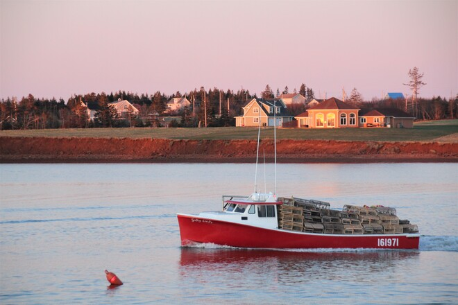 Lobster Boat's North Rustico, PE
