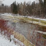 Rivière Saint-Charles en hiver
