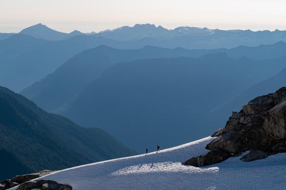 Ridge Walk in the Tantalus