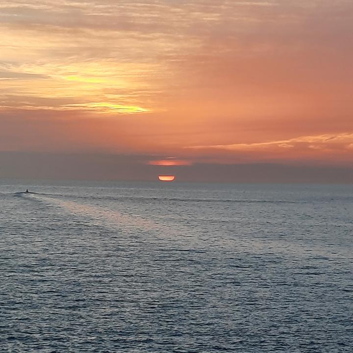 Sunset over the Keys