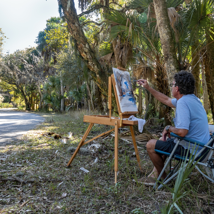 Painter in the Park