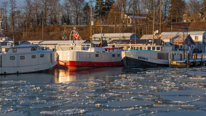 Fishing Tugs Port Dover, ON