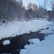 Une belle neige