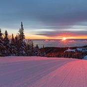 De belles couleurs matinale!
