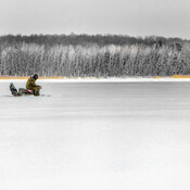 Pêcheur solitaire