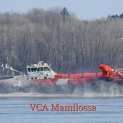 Aéroglisseur brise-glace VCA Mamilossa , Garde Côtières, Trois-Rivières