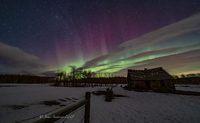 Aurora March 2 2021 Dogpound, AB