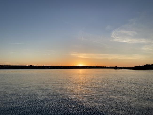 harbour sunrise Halifax, Nova Scotia, CA