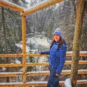 Randonnée printanière au Parc des sept chutes