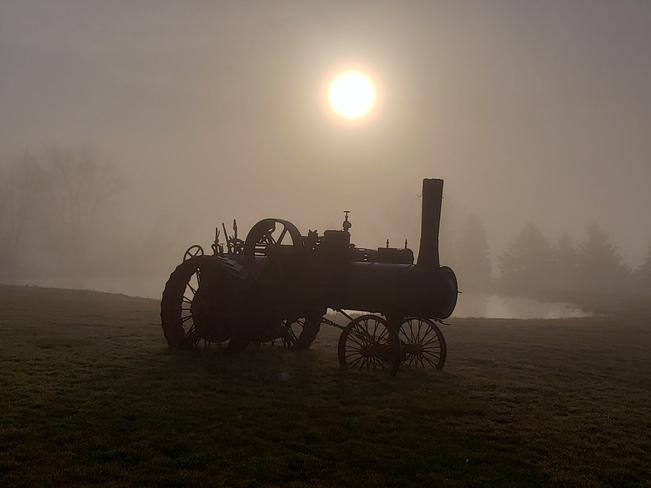 Foggy Morning Ride Brampton, ON