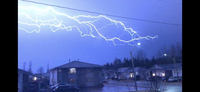Lightening Thunder Bay, Ontario, CA
