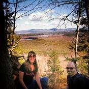 Vue au sommet du Mont Scotch