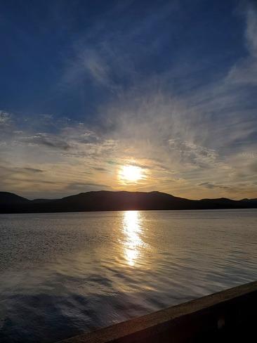 coucher de soleil Magog, QC