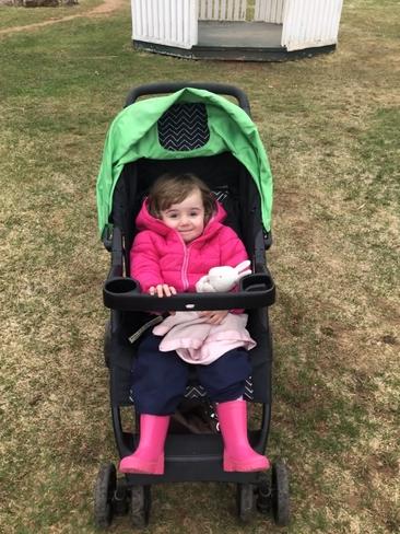 Ivy cool stroller ride Stratford, Prince Edward Island, CA